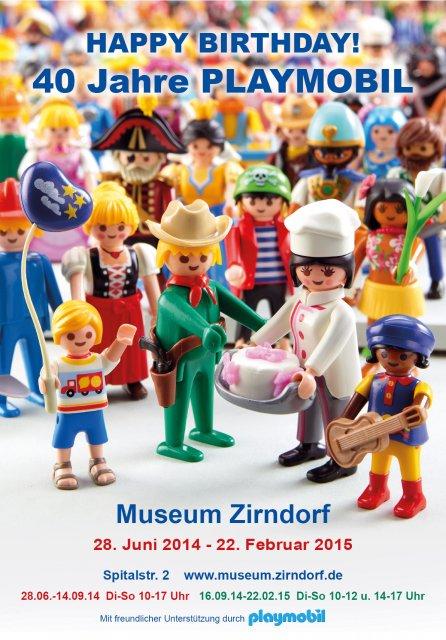 Grossansicht in neuem Fenster: Plakat zur Playmobilausstellung 2014