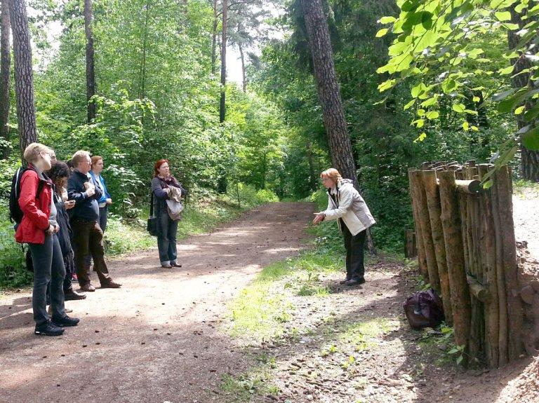 Grossansicht in neuem Fenster: Wallensteinführung im Zirndorfer Stadtwald