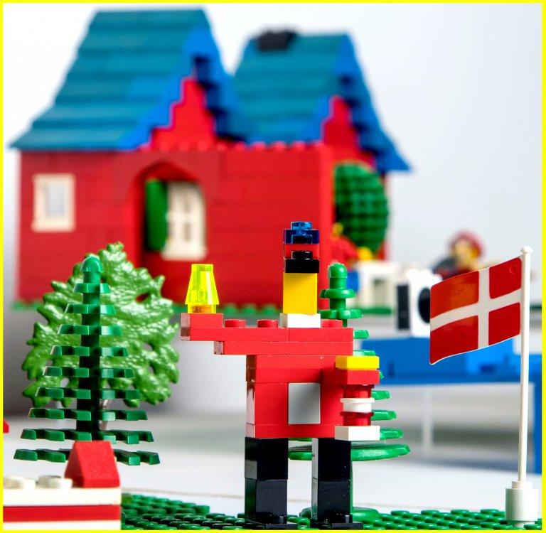 Grossansicht in neuem Fenster: Titelbild der Sonderausstellung LEGO® - kliene Steine mit System