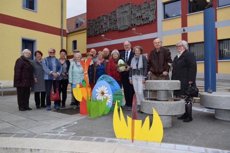 Osterbrunnen Gruppenbild 2017