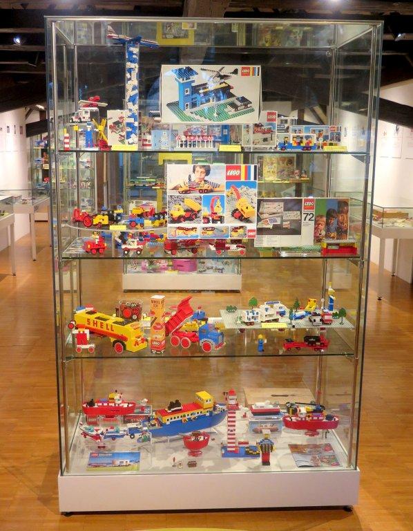 Grossansicht in neuem Fenster: Blick in die LEGO Sonderausstellung 5